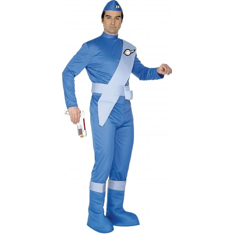 Verkleedkleding Thunderbirds kostuum Scott