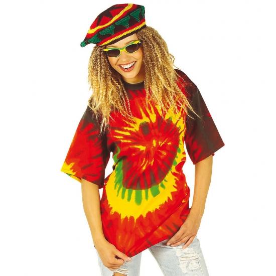 Verkleedkleding Tie-dye hippie shirt
