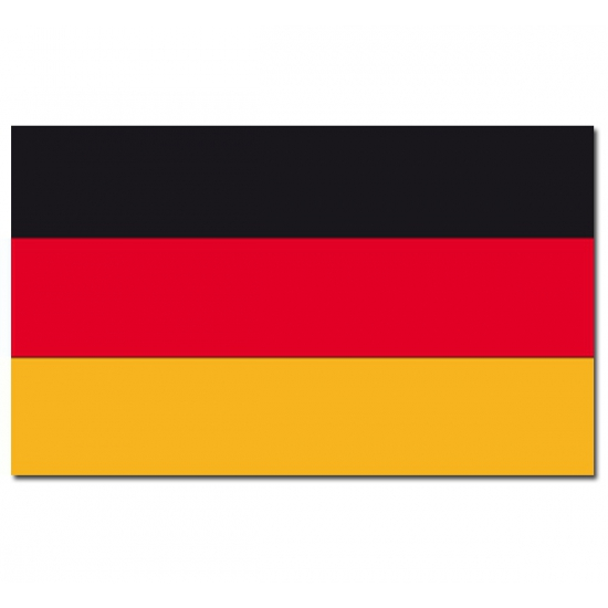 Landen versiering en vlaggen Carnavalskostuum winkel Vlag Duitsland 90 x 150 cm