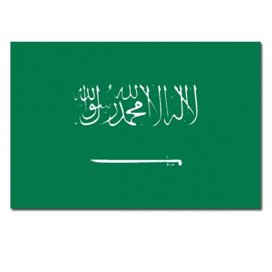 Vlag Saoedi Arabie 90 x 150 cm Carnavalskostuum winkel Landen versiering en vlaggen
