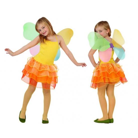 Vlinder jurkje voor meisjes met vleugels