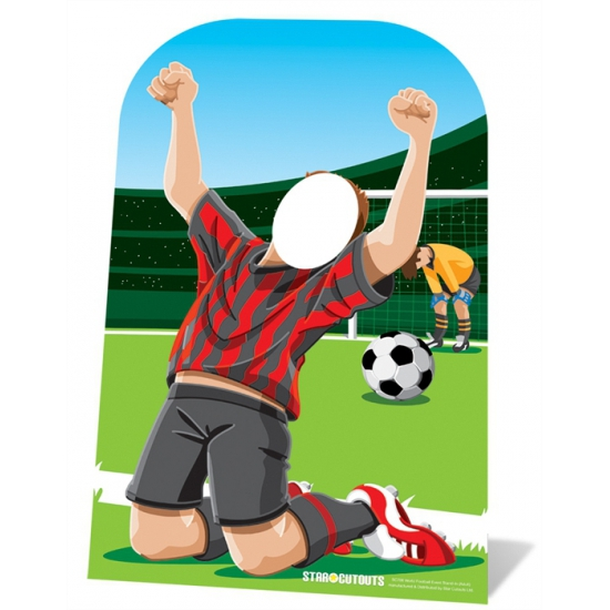 Voetbal foto borden 117 cm