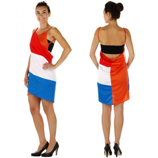 Voetbal supporters jurk voor dames
