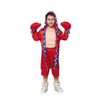 Voordelig rood bokser kostuum