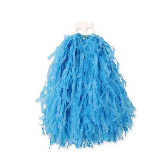 Feestartikelen diversen Carnavalskostuum winkel Voordelige cheerball blauw 28 cm