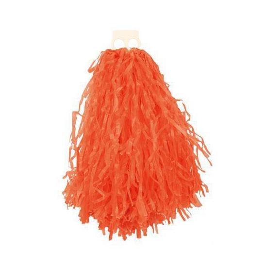 Voordelige cheerball oranje 28 cm Carnavalskostuum winkel Feestartikelen diversen