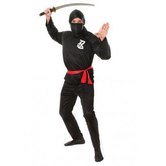 Voordelige ninja verkleedkleding