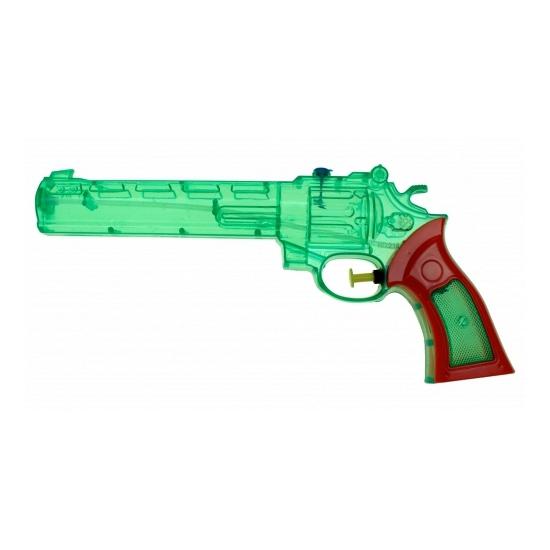 Waterspeelgoed Waterpistool gekleurd 28 cm