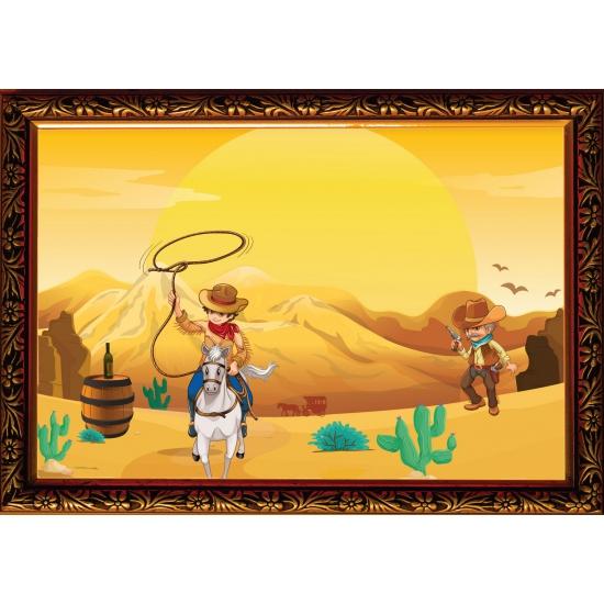 Western poster 59 x 42 cm