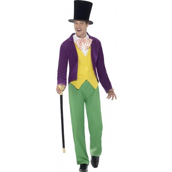 Willy Wonka kostuum voor heren