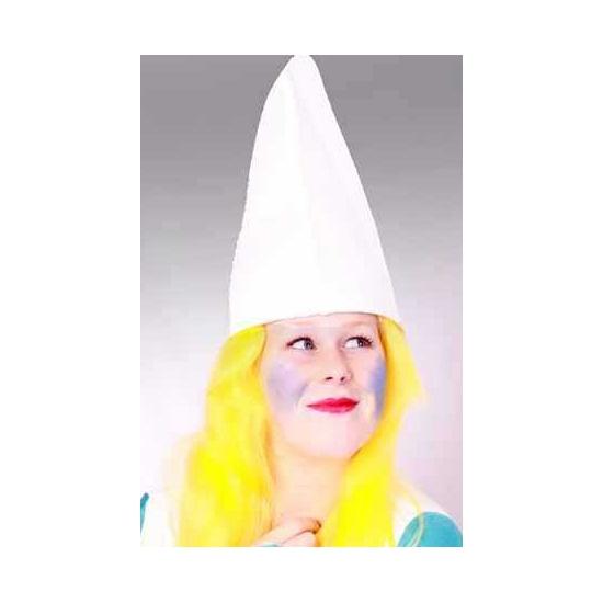 Feest hoeden Geen Witte kaboutermuts 57 cm