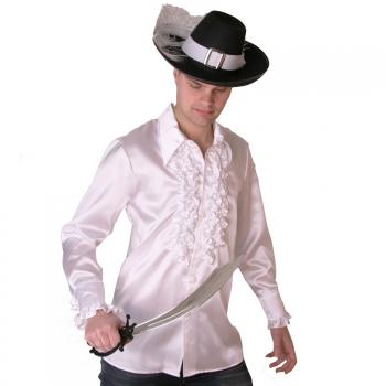 Witte piraten overhemden voor heren