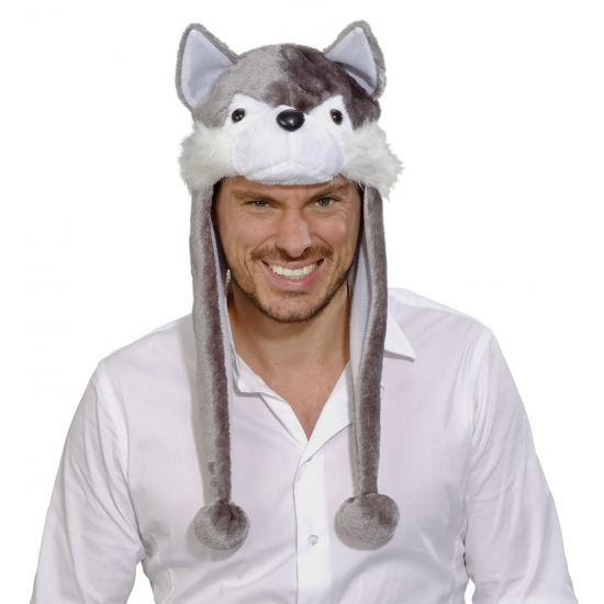 Wolf muts voor volwassenen