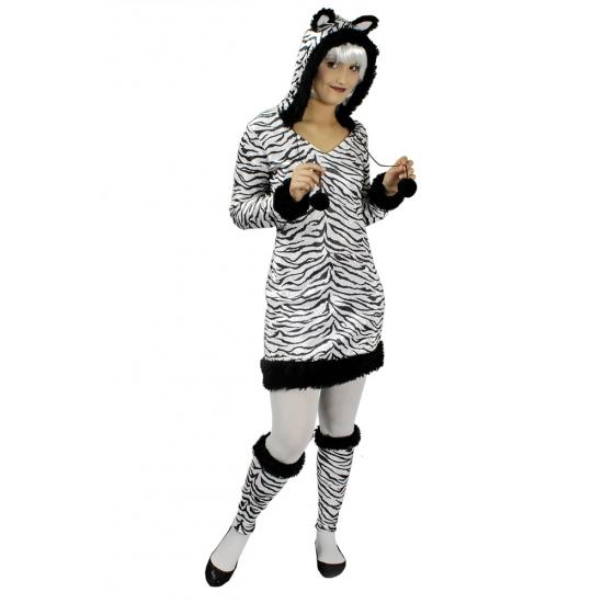 Dierenpakken Zebra dierenpak voor dames