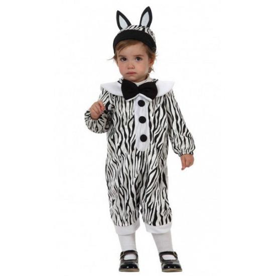 Carnavalskostuum winkel Zebra dierenpakje voor babies Dierenpakken