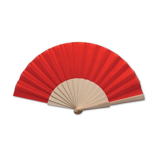 Zomerse waaier rood Carnavalskostuum winkel Premier