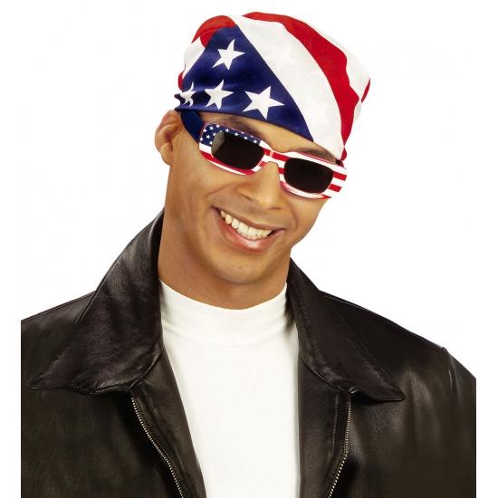 Landen versiering en vlaggen Zonnebril U.S.A. rechthoekig