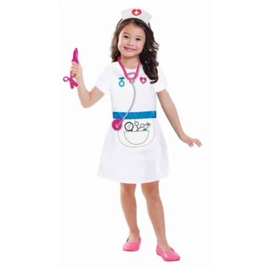 Carnavalskostuum winkel Zuster jurkje voor kinderen Beroepen kostuums