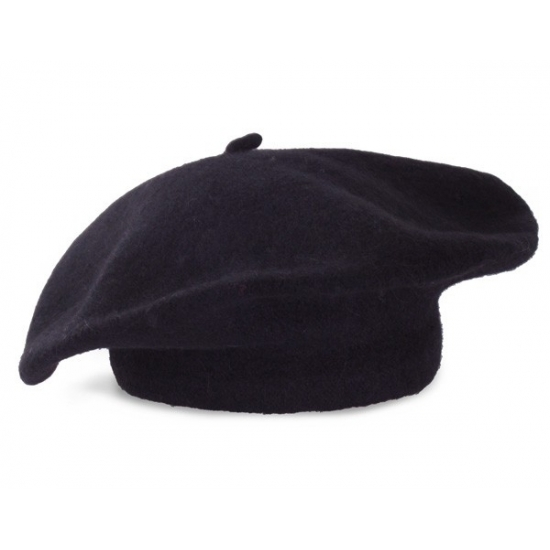 Feest hoeden Geen Zwarte Franse baret voor volwassenen