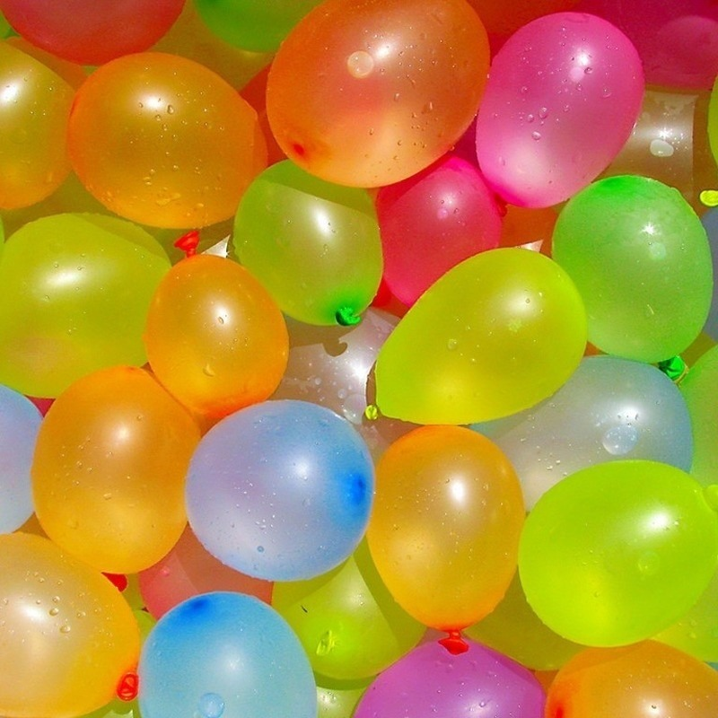 1000x Waterballonnen/waterbommen gekleurd voor kinderen