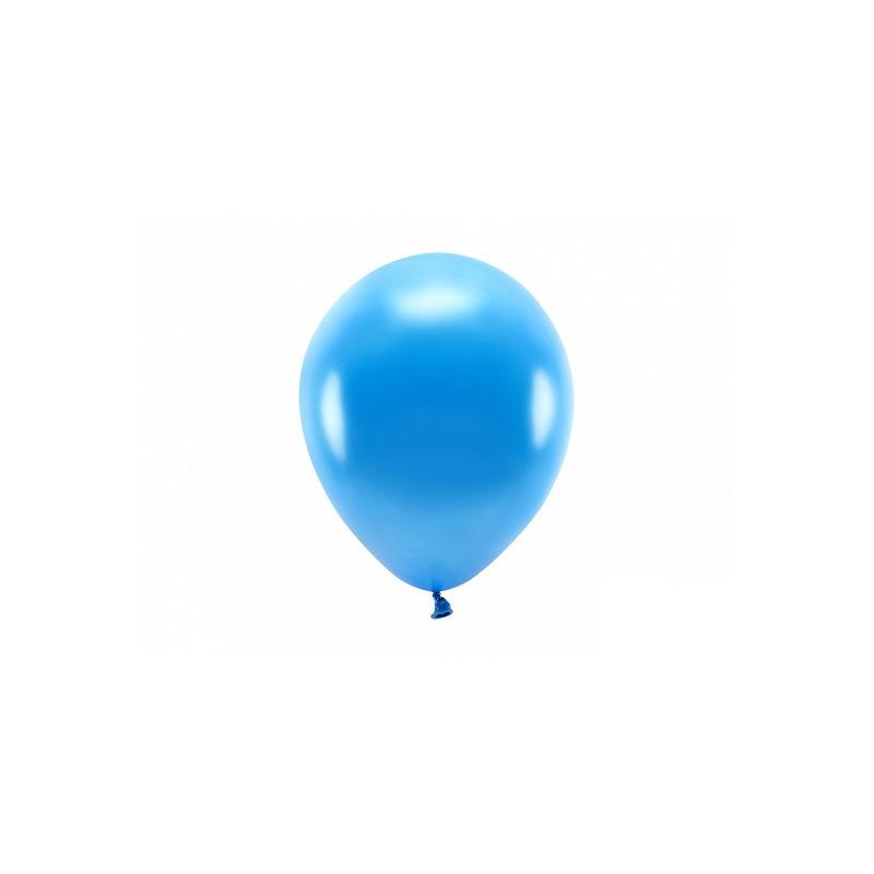 100x Blauwe ballonnen 26 cm eco/biologisch afbreekbaar