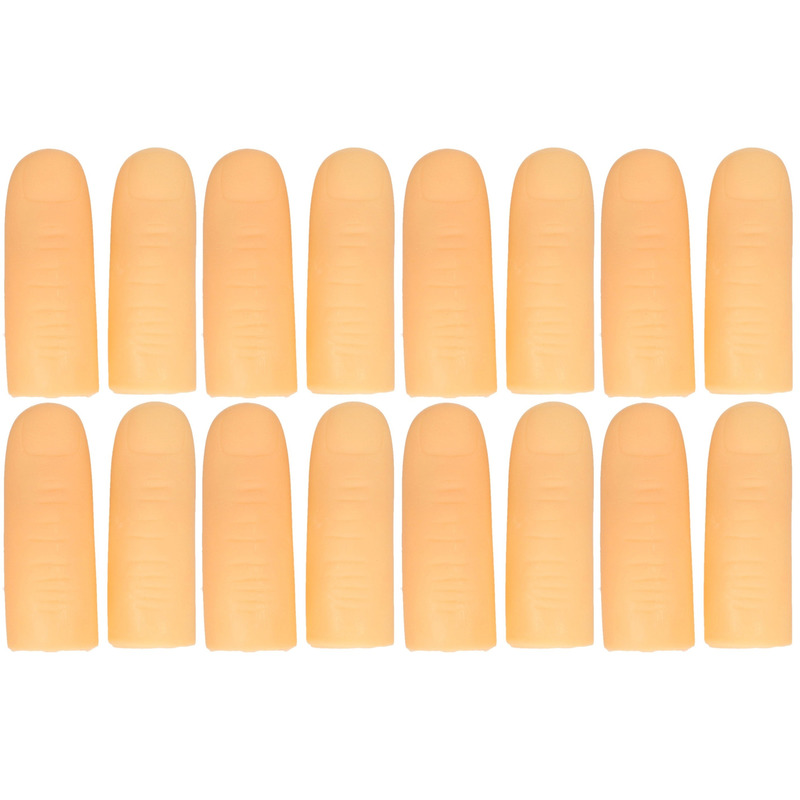 16x Lichtgevende vingertoppen voor kinderen