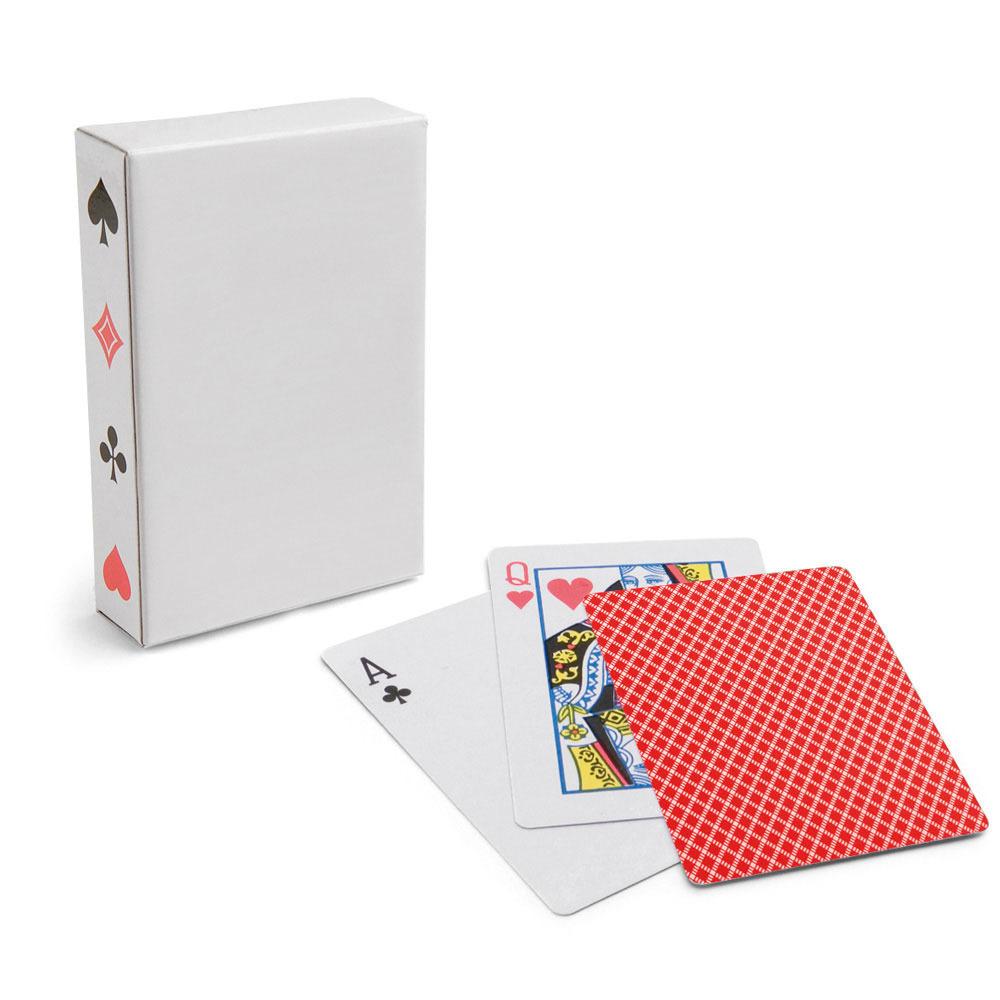 1x Setje van 54 speelkaarten rood