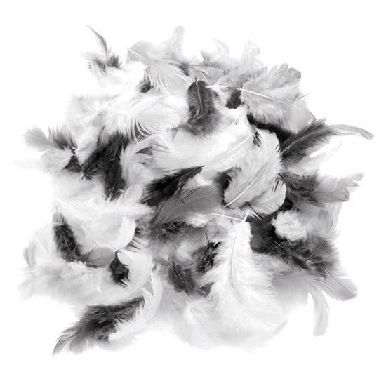 1x zakjes van 10 gram decoratie sierveren grijs tinten