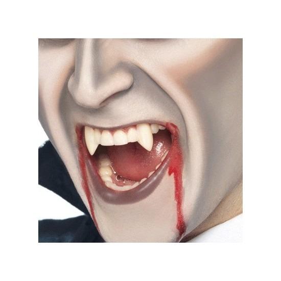 2 stuks vampieren horror nep tandjes