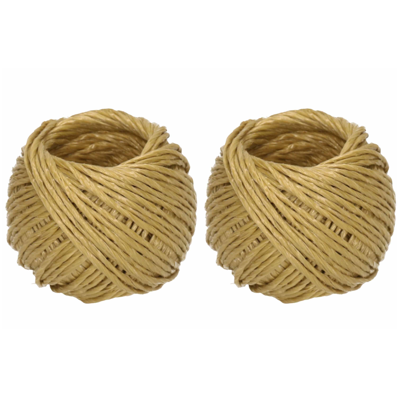 2x Bollen touw