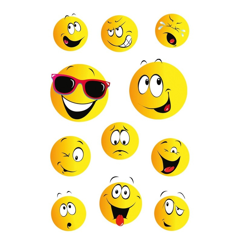 33x Smiley/emoticons stickers