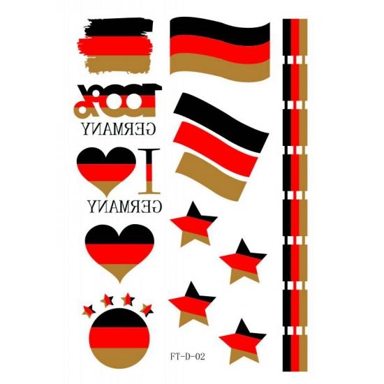 3D Tattoos Duitsland