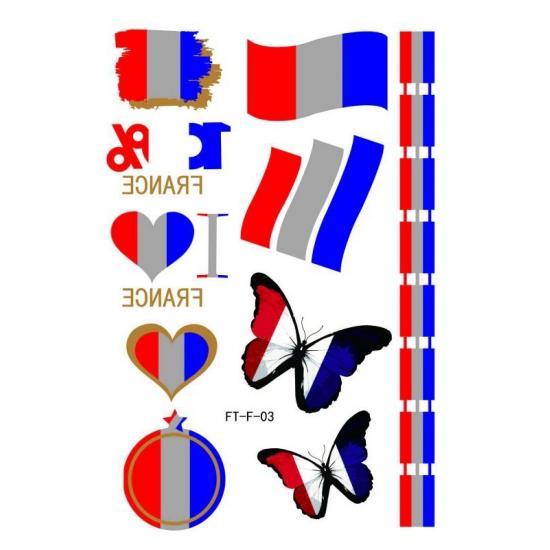 3D Tattoos Frankrijk