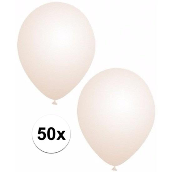 50x Transparante ballonnen