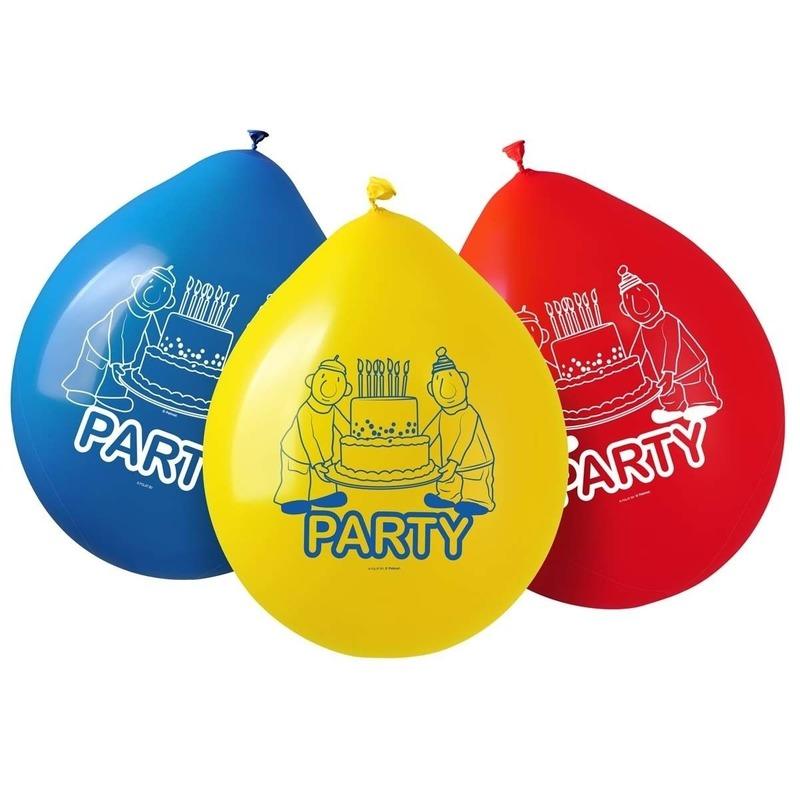 8x Buurman & Buurman feest thema ballonnen