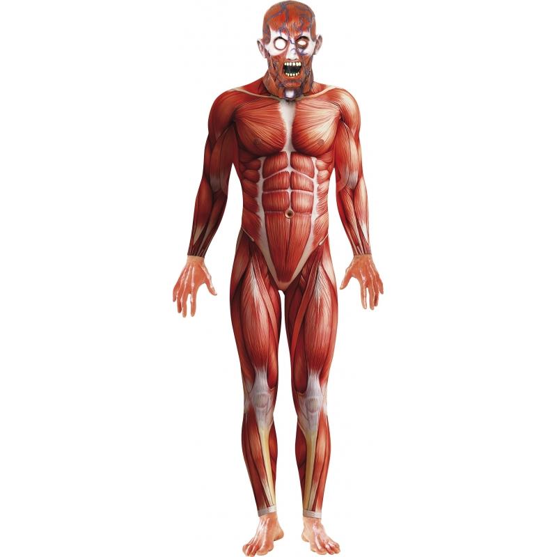 Anatomische Second Skin kostuum