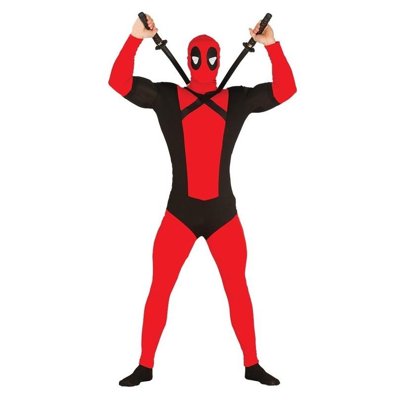 Anti superheld mutant verkleed kostuum voor heren