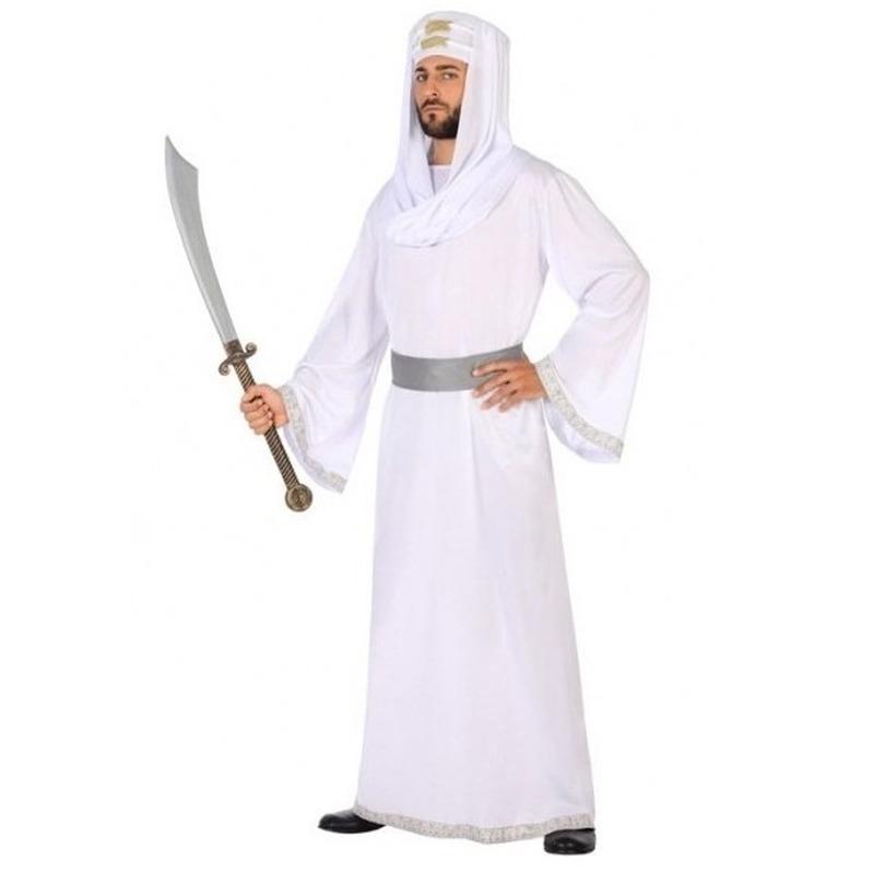 Arabische strijder Hassan verkleed kostuum/gewaad voor heren