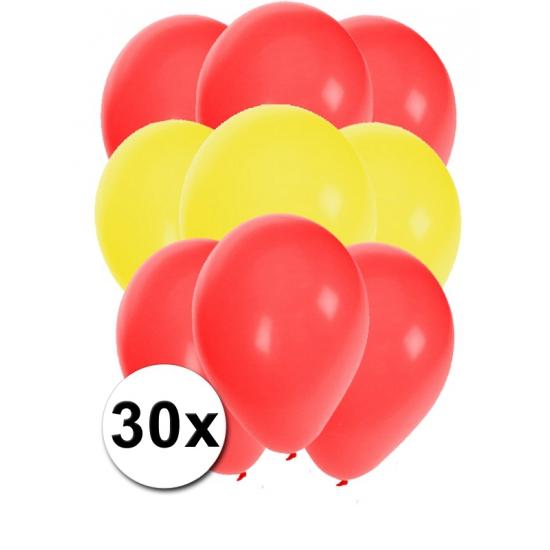 Ballonnen Spaans voetbal eltal 30x
