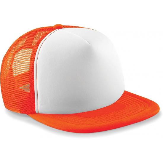 Beechfield hiphop petjes oranje