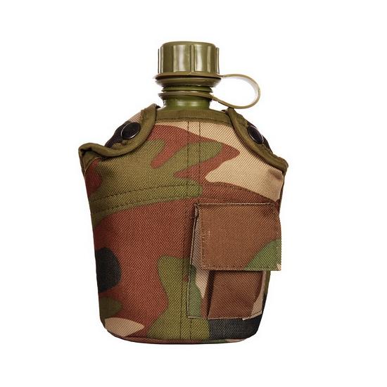 Bidon PVC met camouflage hoes