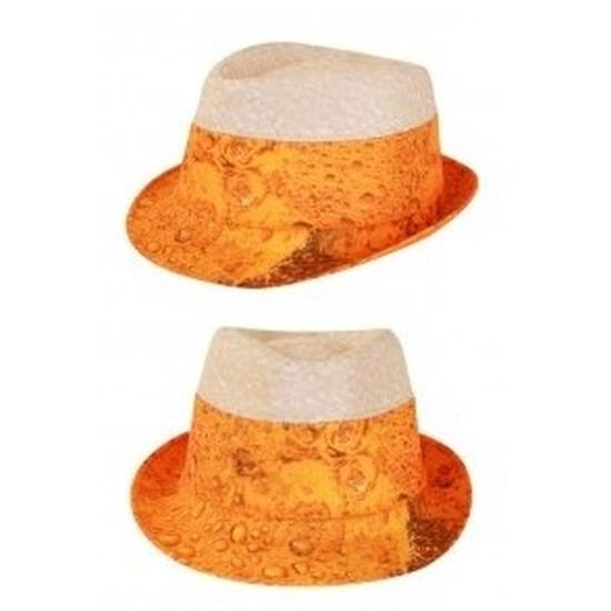 Bier hoed voor volwassenen