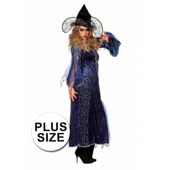 Big size verkleedkleding heksenjurk