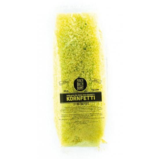 Bio Confetti oplosbaar geel 52 gram