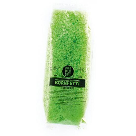 Bio Confetti oplosbaar groen 52 gram