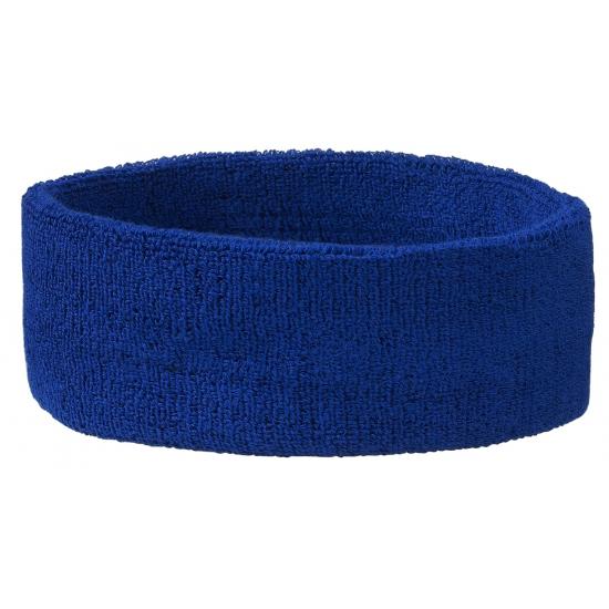 Blauwe hoofd zweetbanden