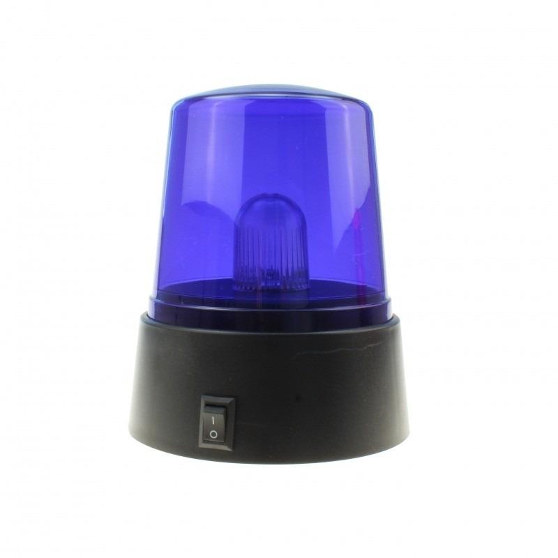 Blauwe mini zwaailamp 11 cm