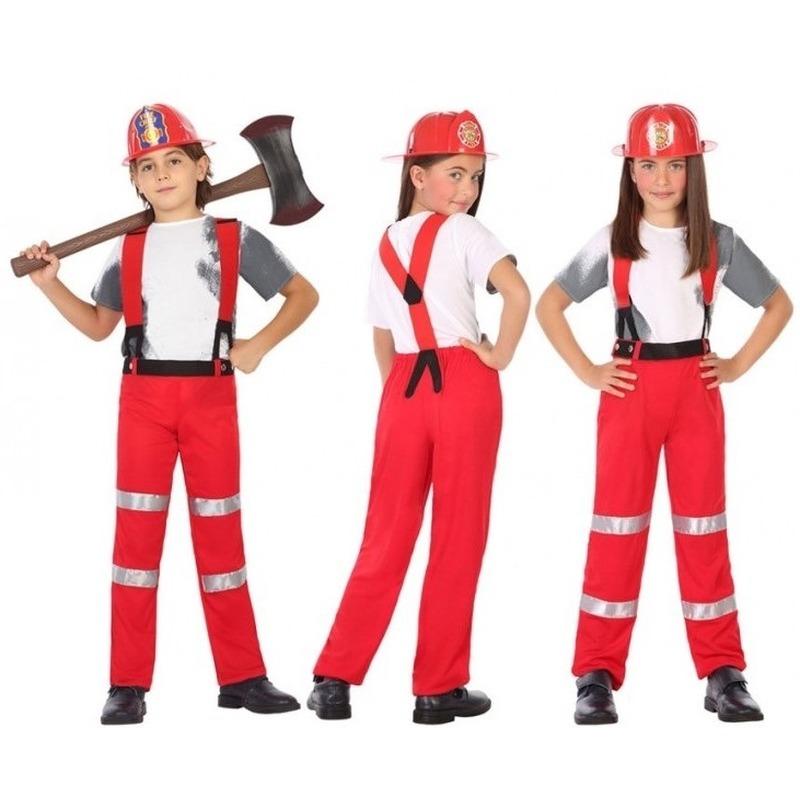 Brandweer pak - verkleed kostuum voor jongens en meisjes
