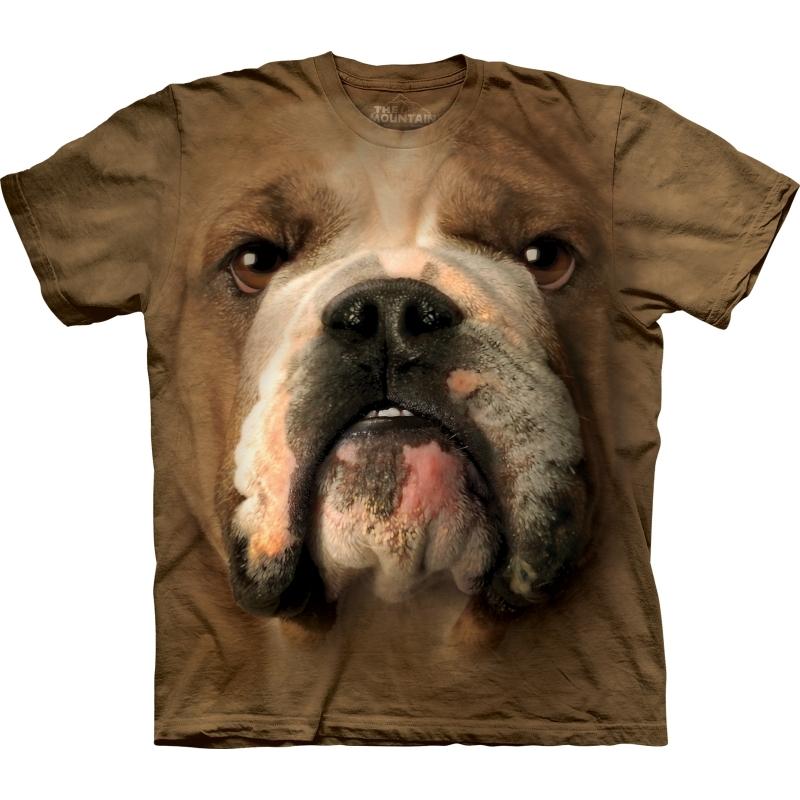 Bulldog T-shirt voor volwassenen