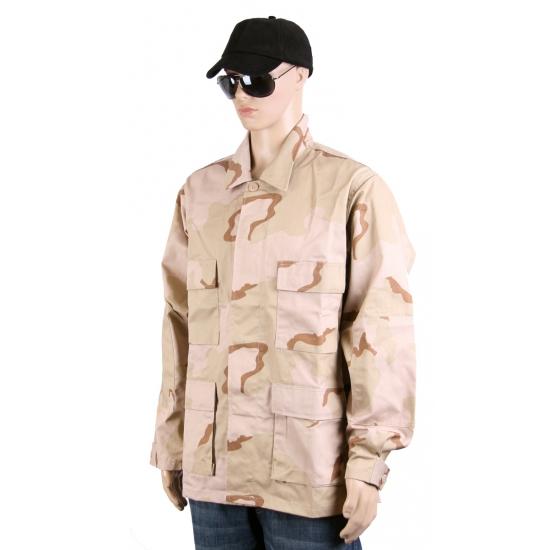 Camouflage desert jack